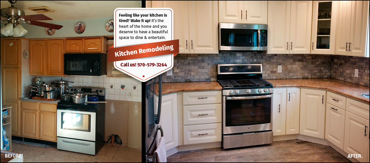 Kitchen Remodeling Before and After photos